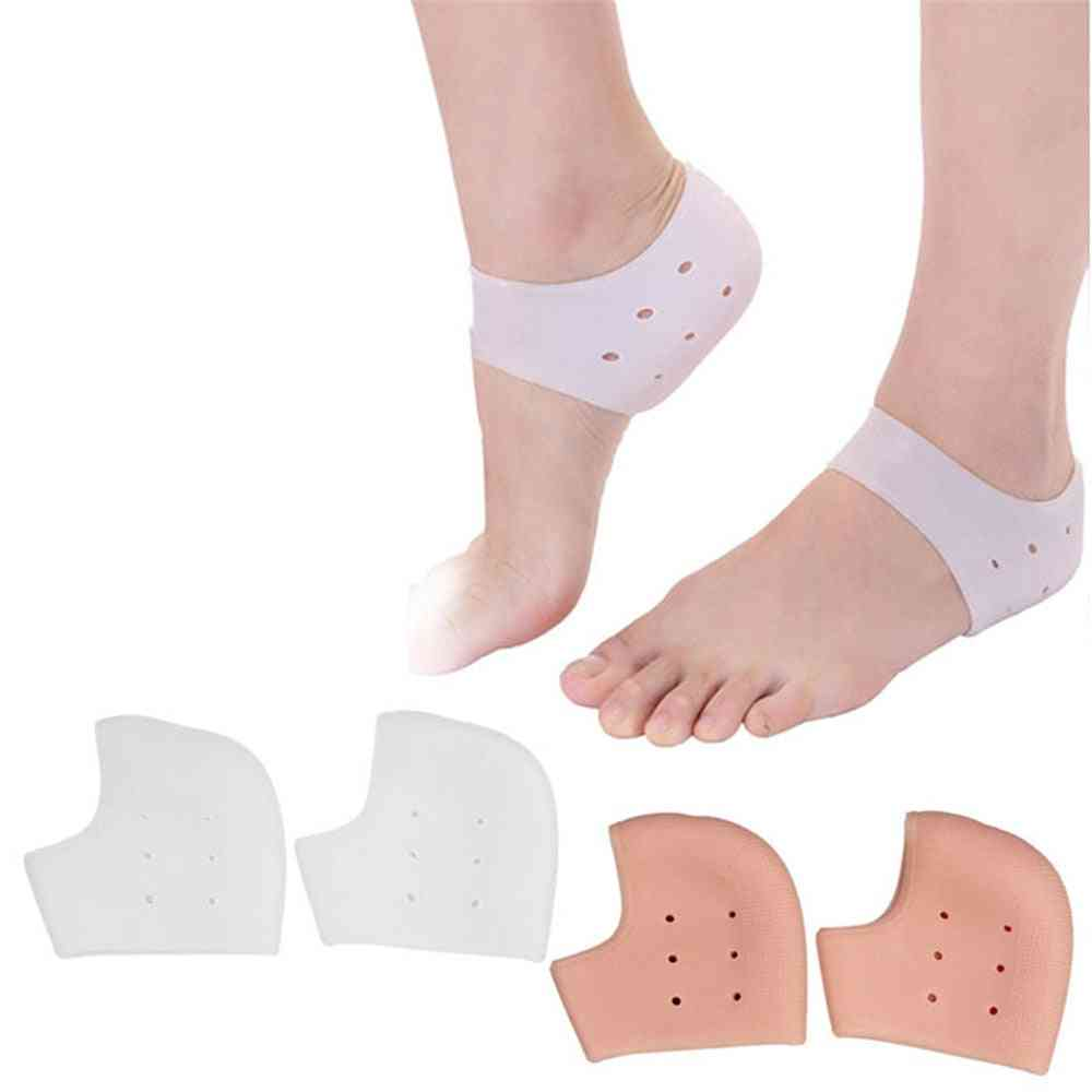 Silicone Moisturizing Gel Heel Socks Cracked Foot Skin Care Protectors