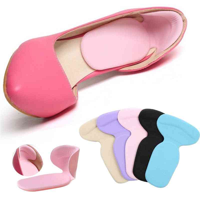 T-shape Silicone Non-slip Cushion Foot Heel Protector Liner Shoe Comfortable Pads