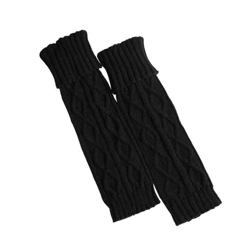 Winter Warm Crochet Knit Leg Socks
