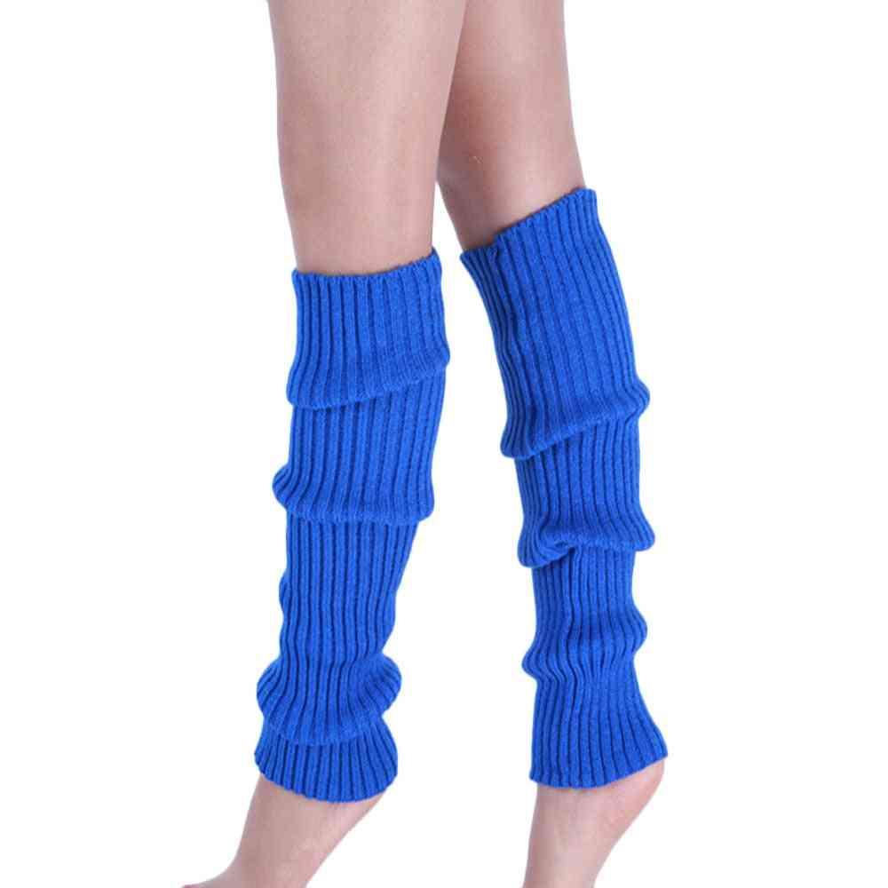 Knitted Leg Warmer Long Socks For