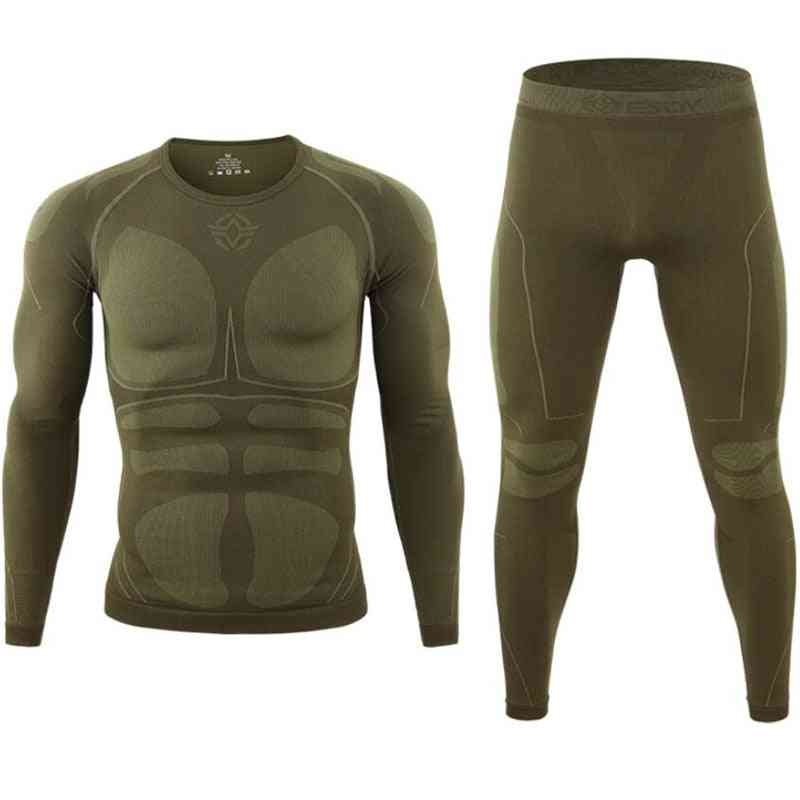 Seamless Tight Tactical Thermal Underwear