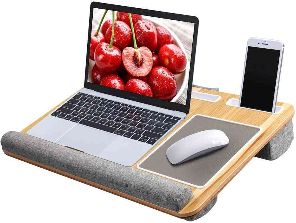 Lapdesk /laptop Desk Stand Withtablet And Phone Holder
