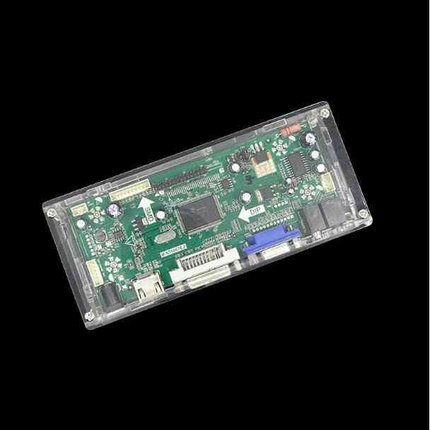 Display Driver Controller Board, Transparent Protective Case, Box