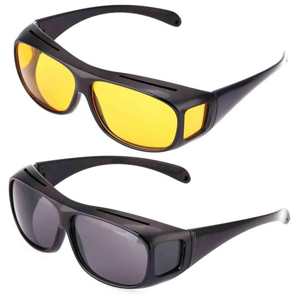 Night Driving Glasses Driver Goggles Unisex Sun Glasses Uv Protection Sunglasses Eyewear