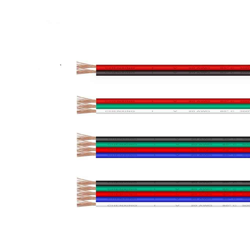 Electric Flexible Led Cable Connector Extension Wire