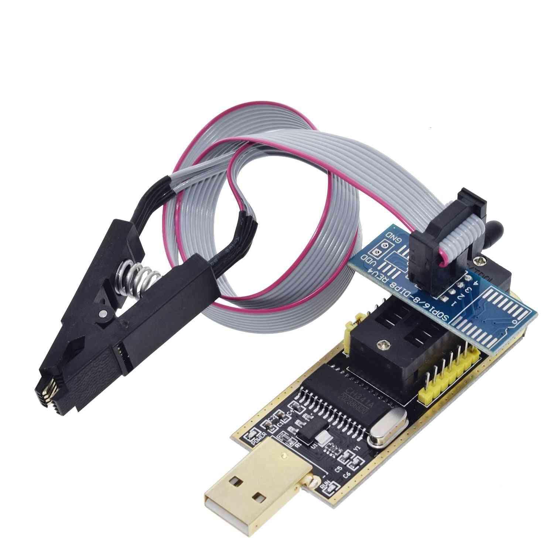 Usb Programmer Module + Soic8, Sop8 Test Clip For Eeprom