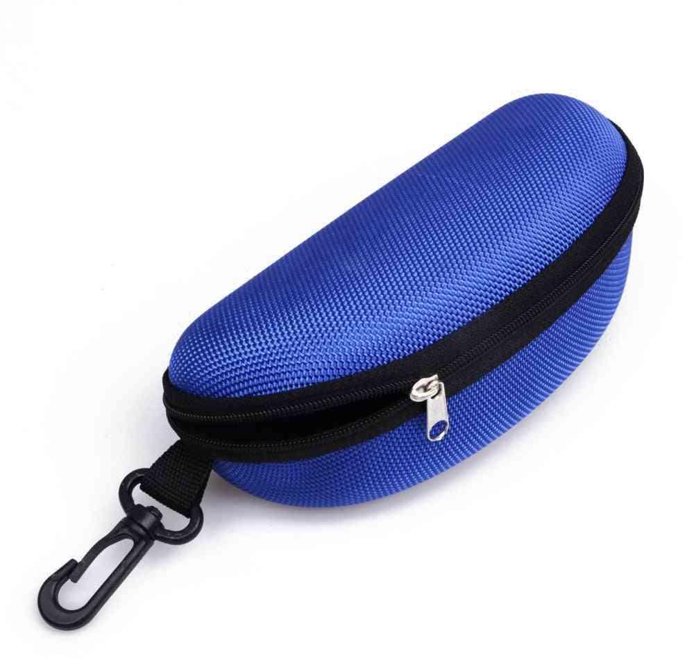 Unisex Hard Zipper Carry Case For Sunglasses