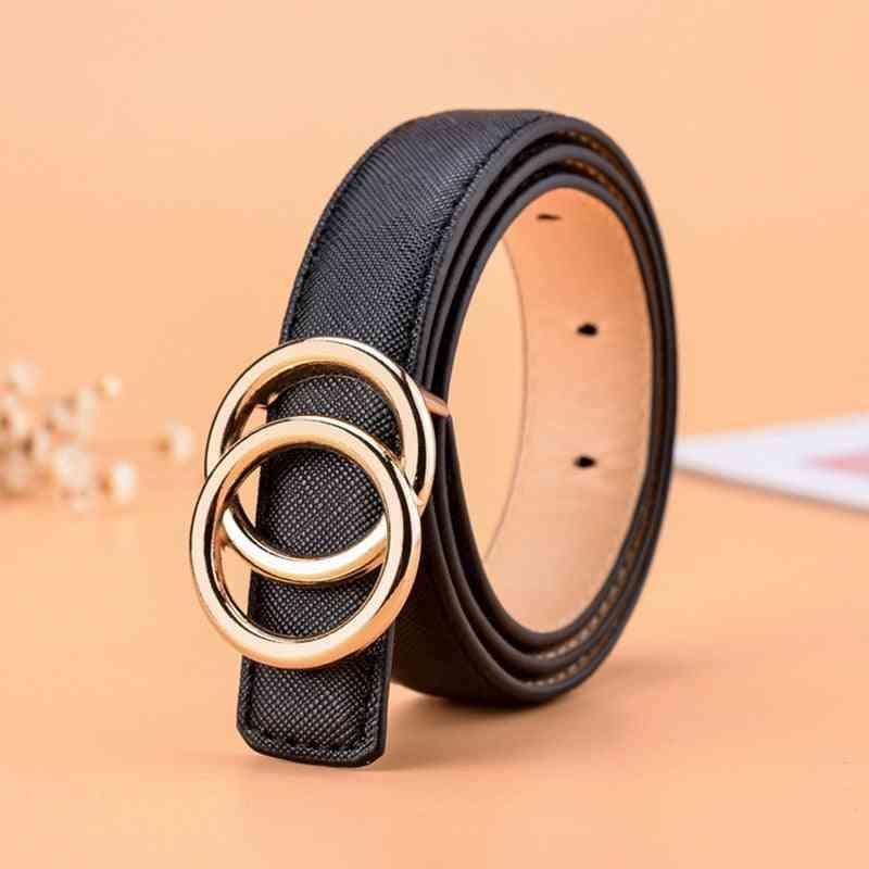 High Quality Leather Belts -, Kids Casual Pu Waist Strap