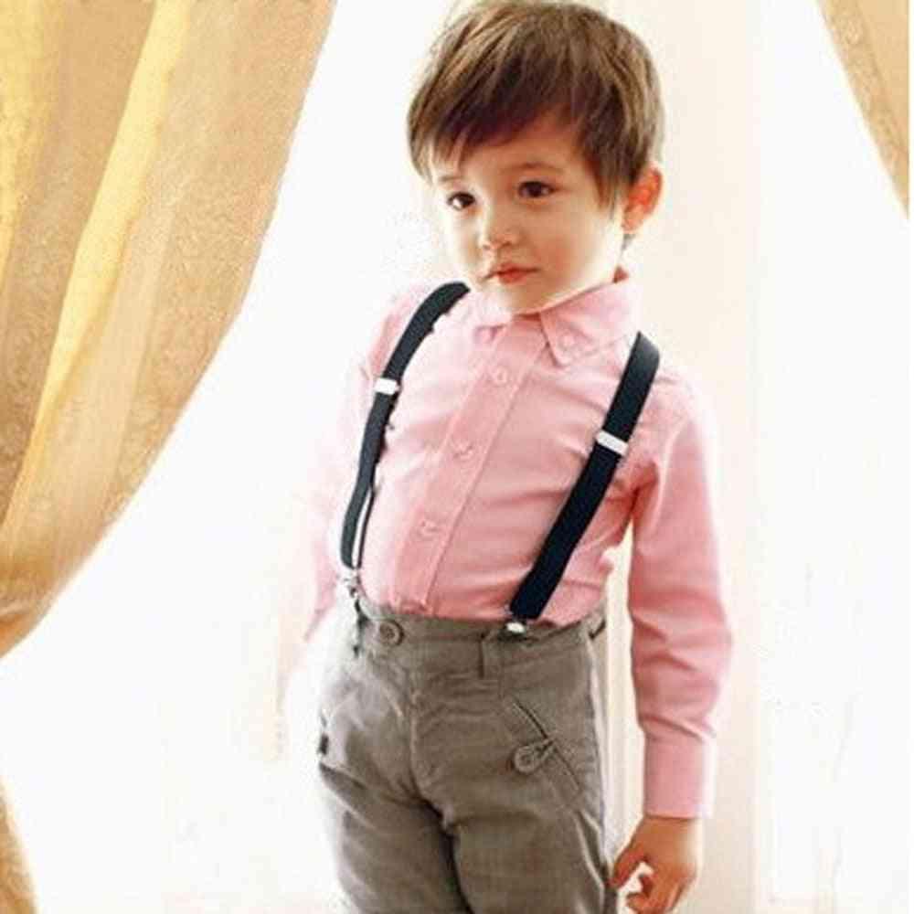 Cute Baby, Girl Clip On Suspender Y, Child Elastic Braces