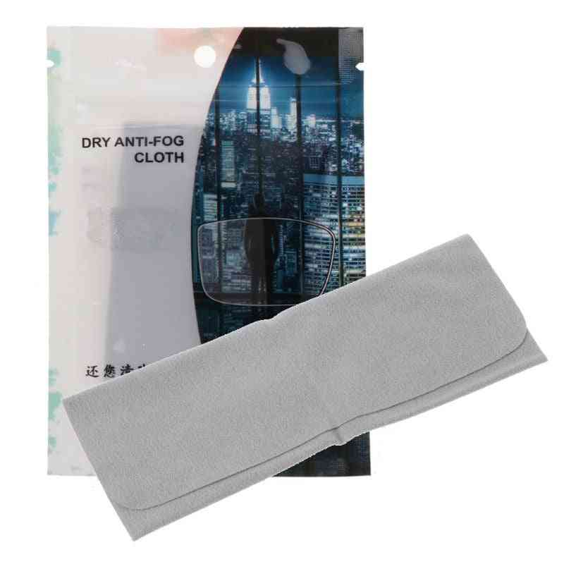 Tech Nano Anti Fog Wipe Treatment Reusable Cloth For Glasses