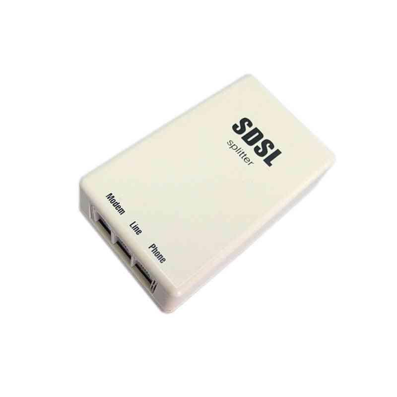 Hq Telephone Broadband, Splitter, Rj11 Connector For Sdsl, Adsl Modem