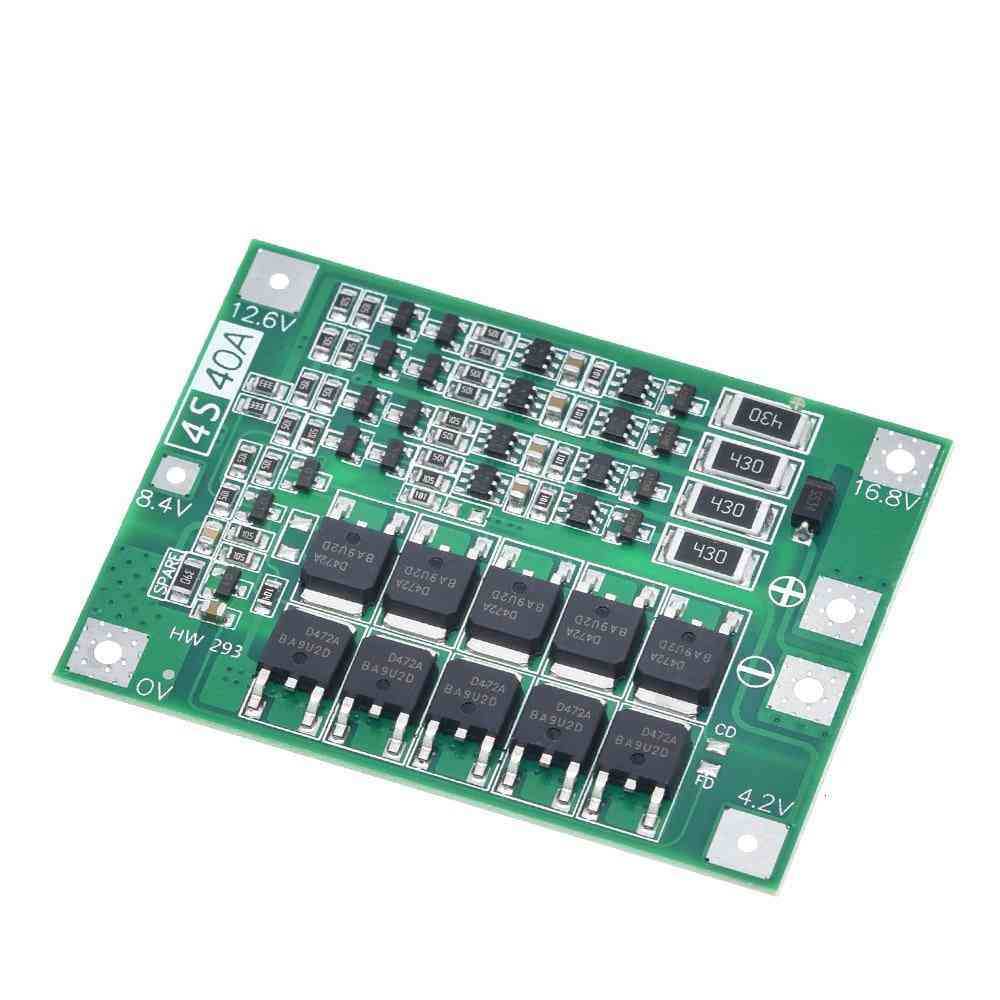 Li-ion Lithium Battery Charger, Protection Board