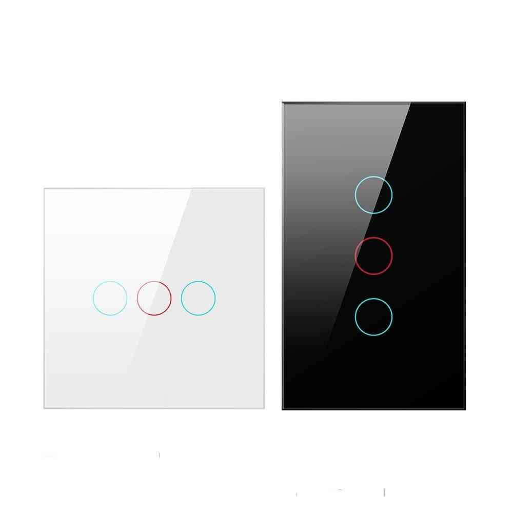 Wifi Smart Light Switch With Luxuray Glass Panel