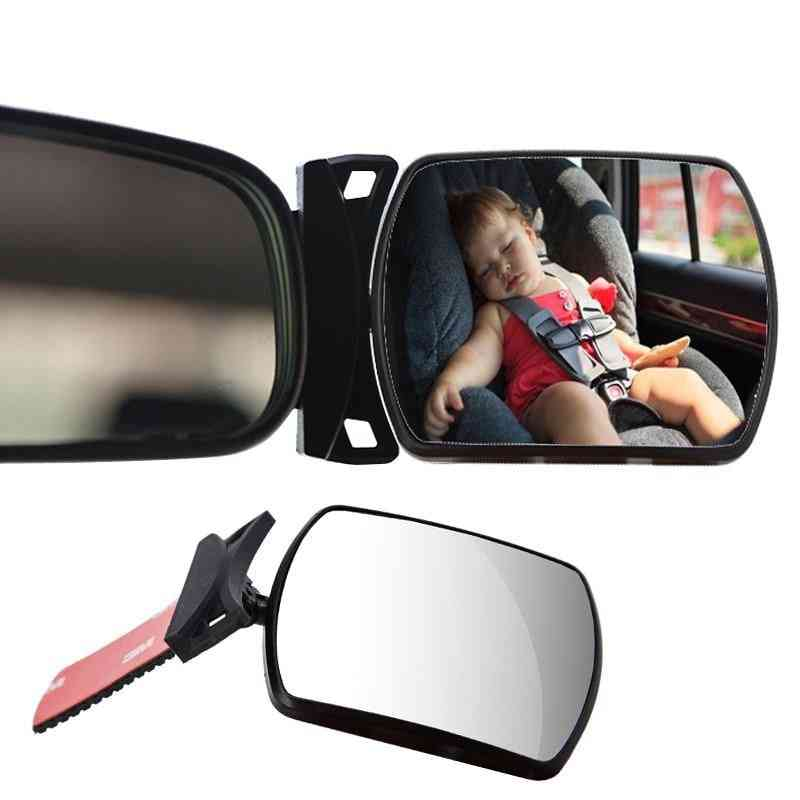 360 Degree Adjustable Automotor Kids Monitor Safety Car Rearview Mirror