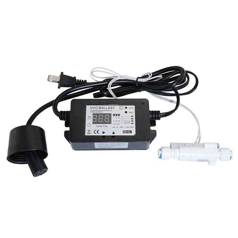Water Filter Uv Lamp Ballast Replaced Power Adapter With Plug
