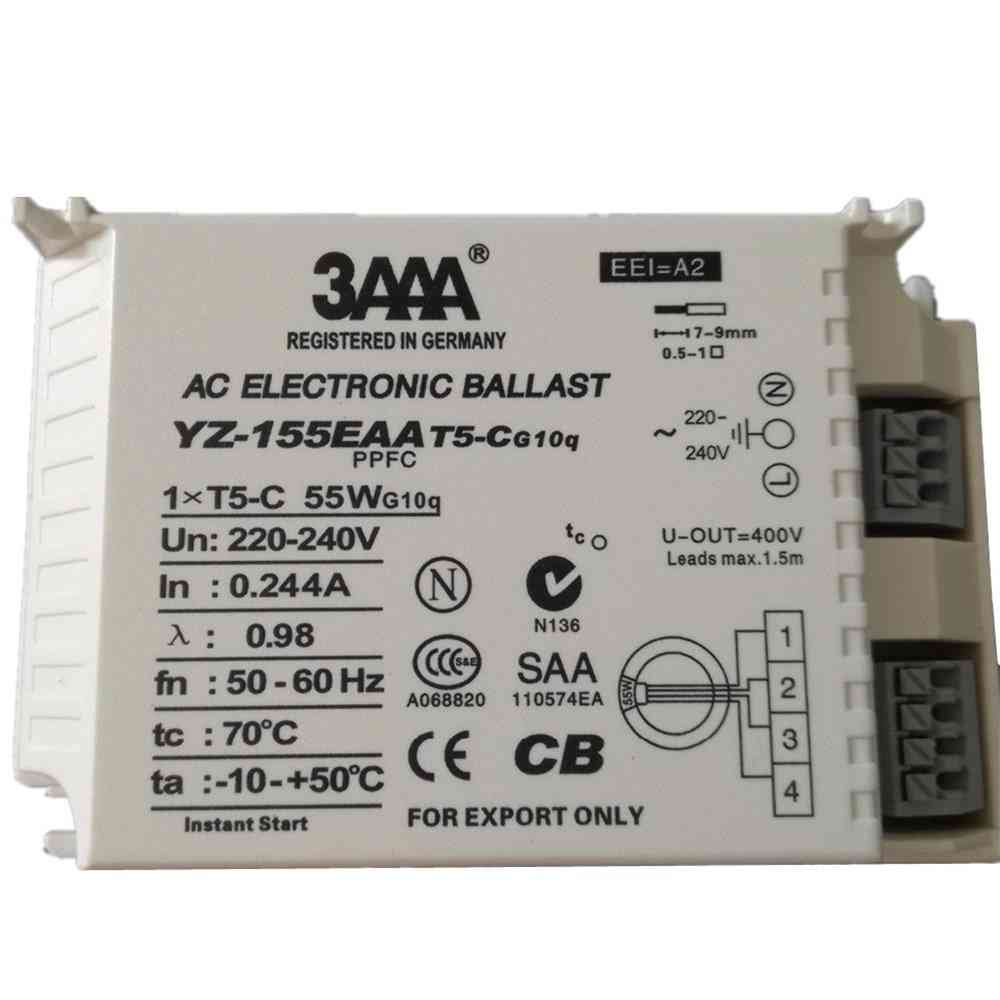 3aaa Electronic Ballast For T5/t6 Fluorescent Annular Tubes