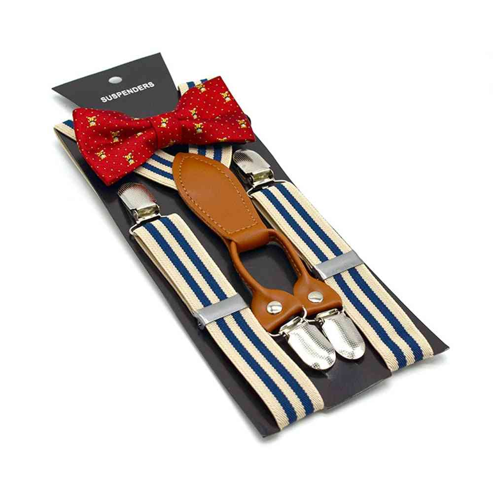 Suspenders, Kids Wedding,, Baby, Bow Tie Set, Braces For Trousers
