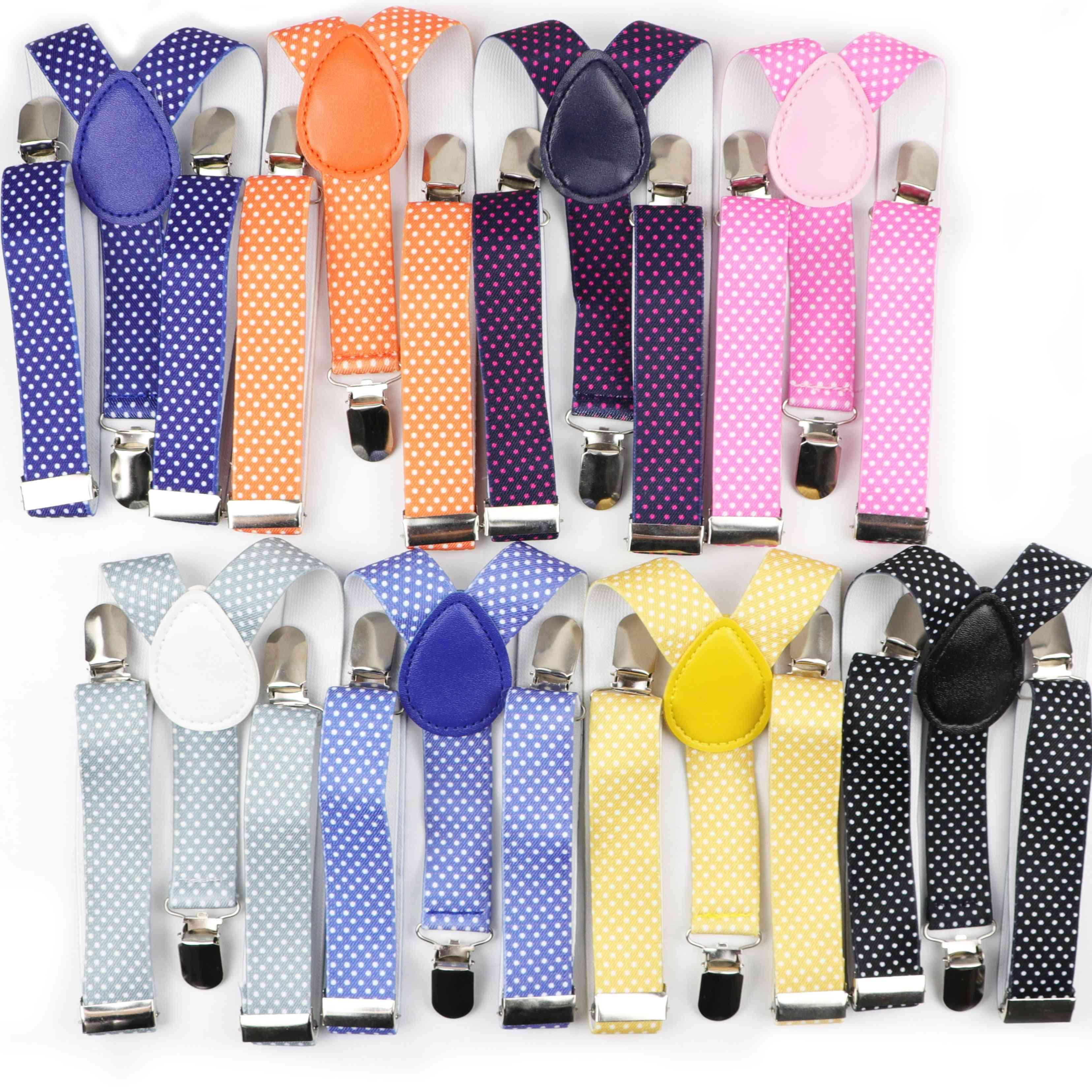 Kid Belt, Suspenders, Dot Kids Polyester Y-back Braces