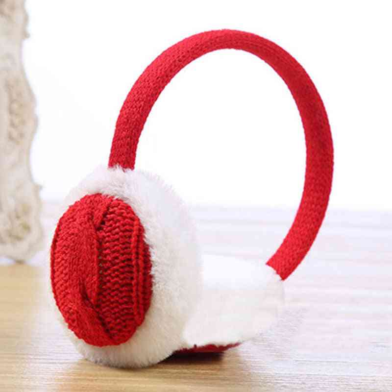 Crochet Knitted, Warm And Comfortable Unisex Earmuffs