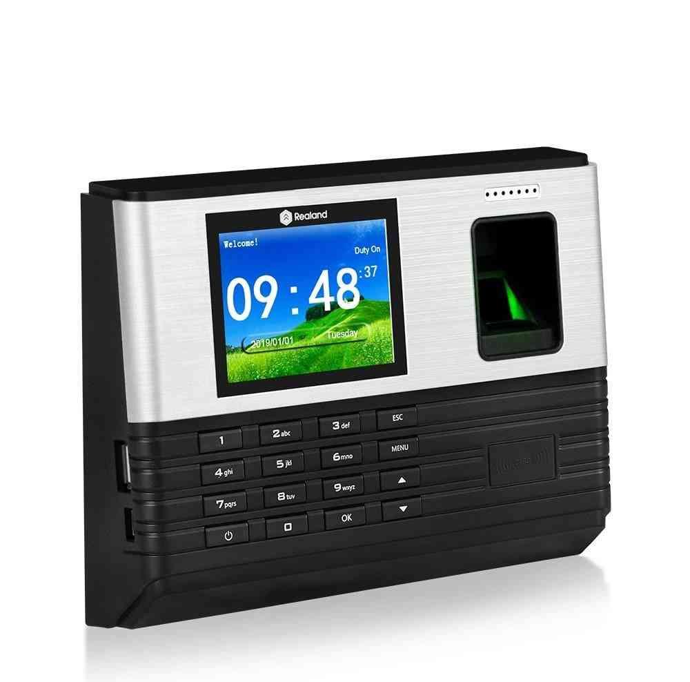 Wifi, Biometric Fingerprint Recognition Attendance Machine