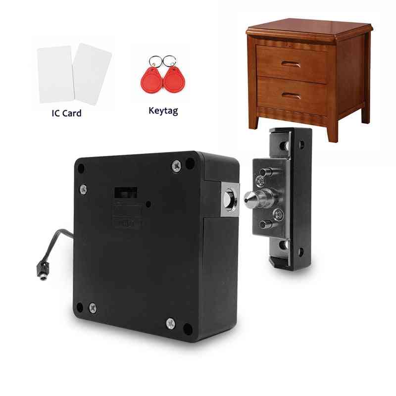 Smart Electronic, Hidden Cabinet, Wardrobe/ Drawer Door Lock With Two Cards