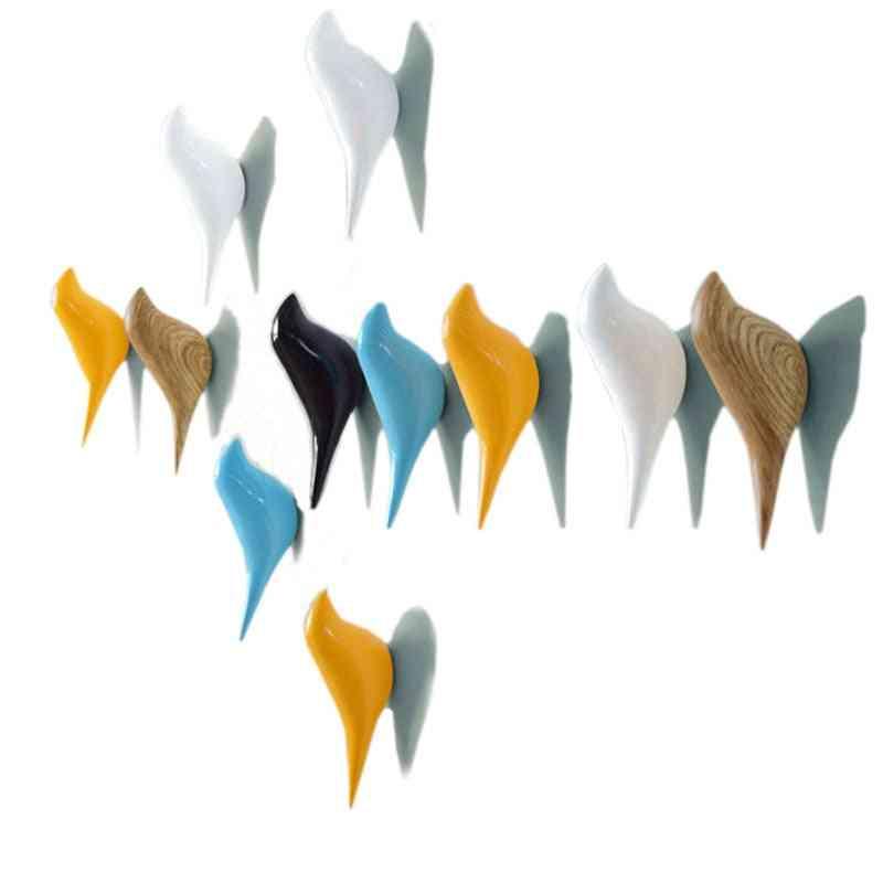 Resin Wall-coat Rack, Wall Decoration Bird Racks
