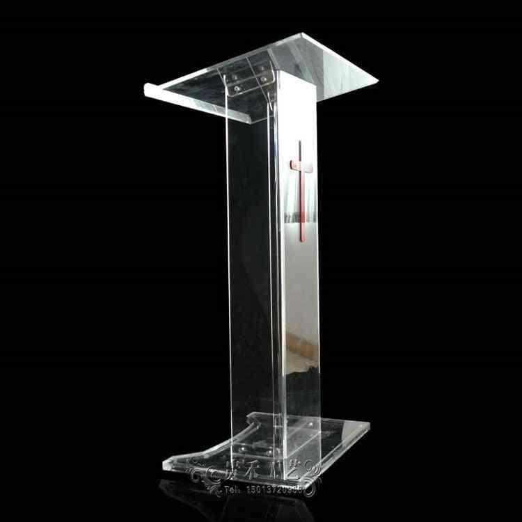 High Quality Transparent Acrylic Podium