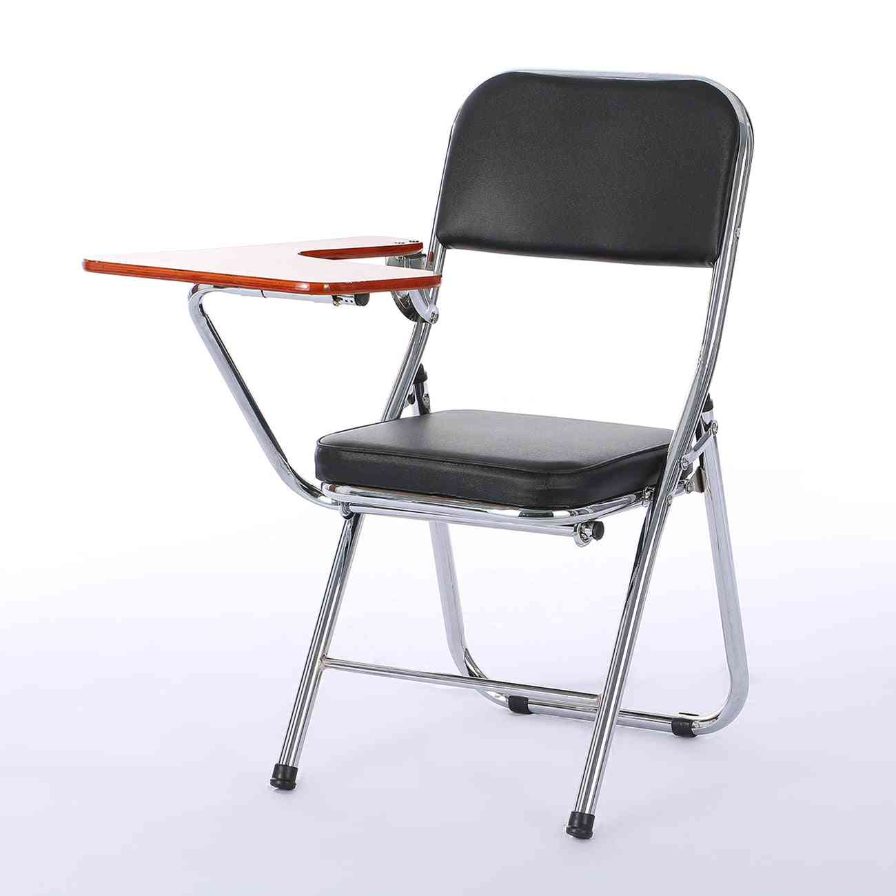 Staff Training Chair With Writing Board For Student