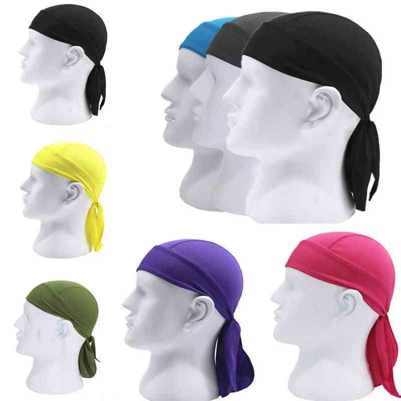 Breathable Multi Function Men Bike Headband, Cycling Bandana Pirate Head Scarf