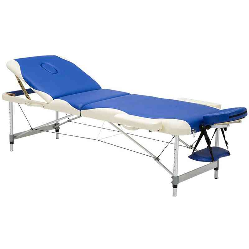 Adjustable Massage Table Beauty Furniture Portable Folding Salon Bed With Bag