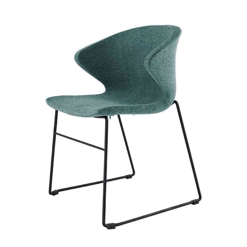 Home Wrought Iron/dining Chair, Backrest Negotiation Lounge Office Chair
