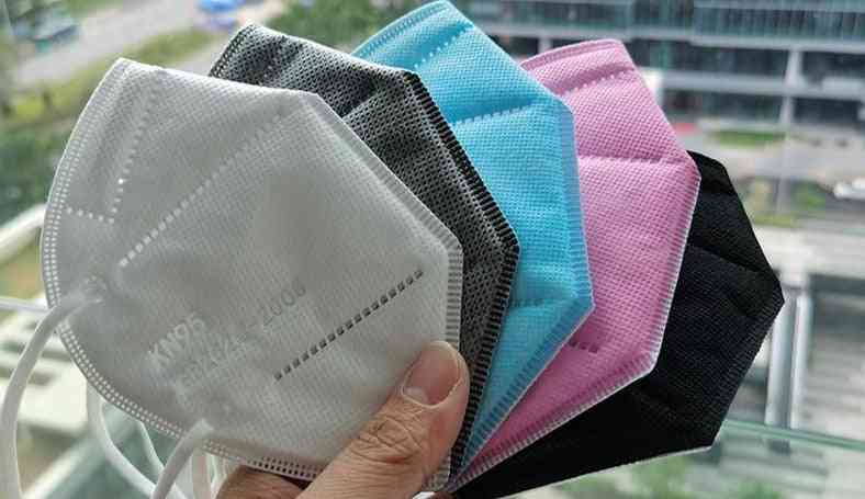 5 Layer, Ffp2 Kn95 Face Mask For Adults