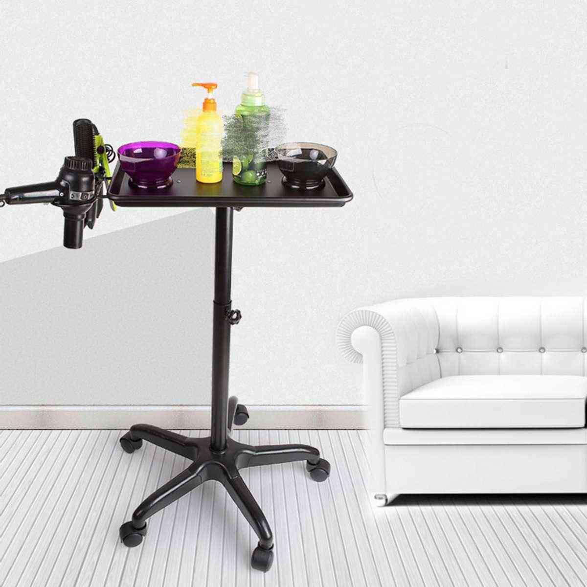 Hairdresser Beauty Trolley Cart, Hair Styling Equipment Holder Stand For Salon