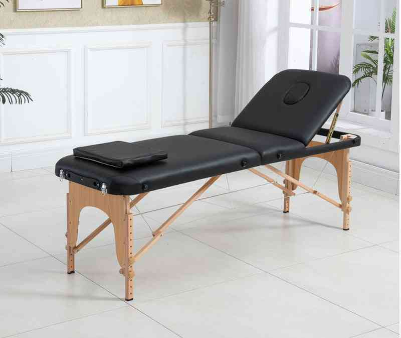 Adjustable Massage Salon Bed, Chair, Spa Table