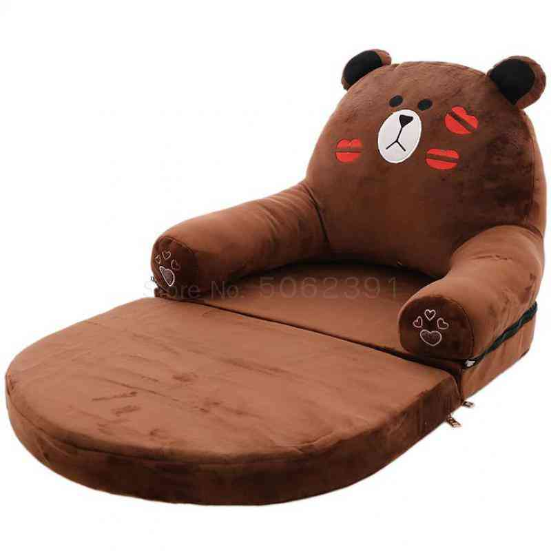Folding's Small Sofa Cartoon Removable And Washable Multifunctional Baby Lazy Sofa Bed Kindergarten And'seat