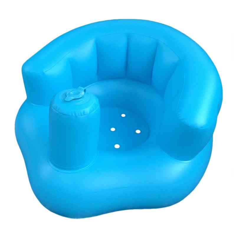 Inflatable Sofa Baby Learning Dining Chair Bath Stool Inflatable Toy