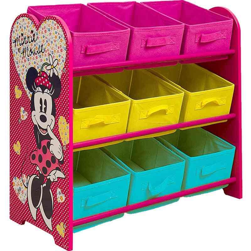Multi-storey Shelves Toy Box