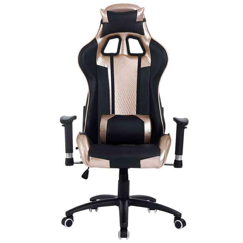 Ergonomic Computer Gaming / Lol Wcg Lying Footrest Lifting Swivel Chair