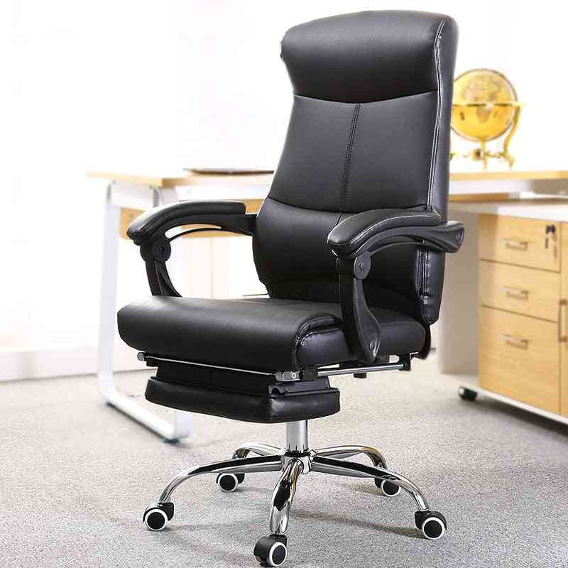 Computer Chair Lifting Rotatable Foldable Footrest