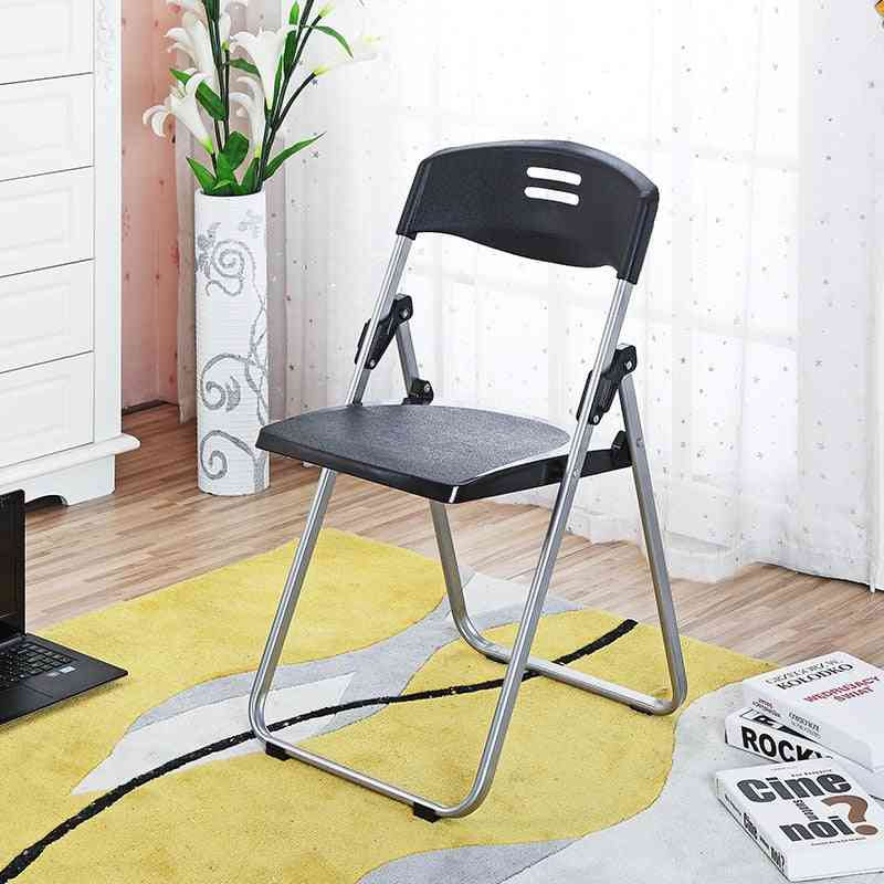 4pcs Multipurpose Plastic Folding Office Staff Training Conference Chair With Writing Board