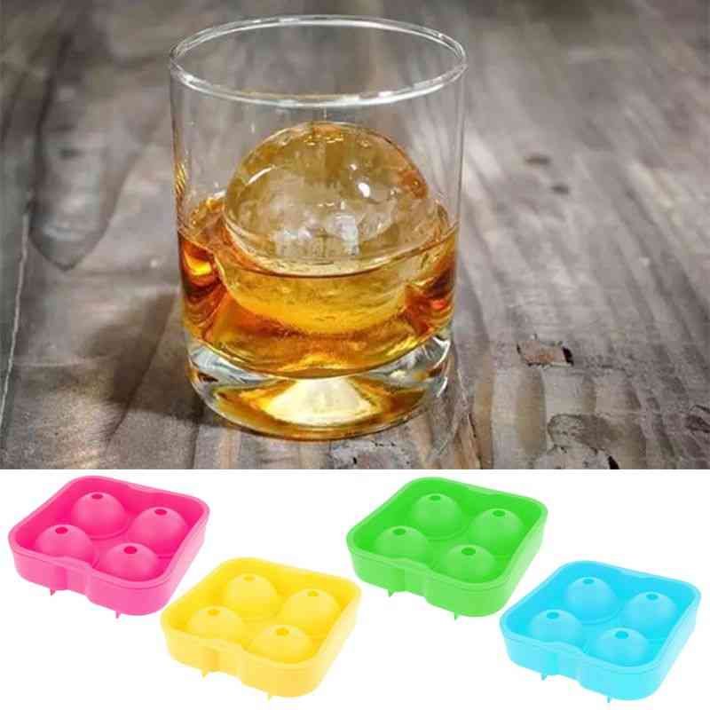 Whiskey Ice Cube Ball Maker, Round Bar Accessiories