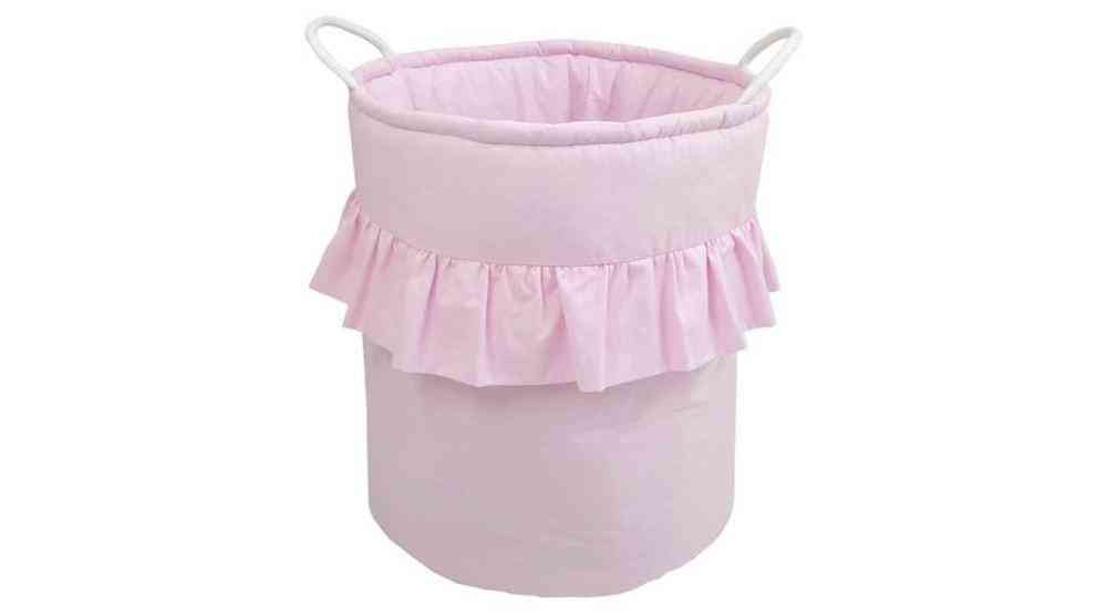 Cotton Toy Basket Organizer With Wide Mouth And Length