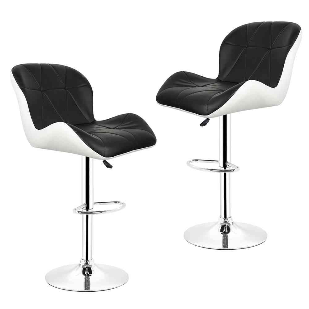 Leisure Synthetic Leather Swivel Bar Stools/chairs Height Adjustable Pneumatic Pub Chair