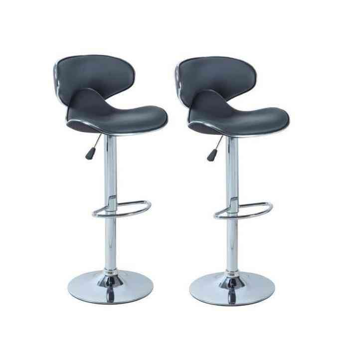 Pub Chair Counter Swivel Bar Adjustable Modern Style, Swivel Bar Chair