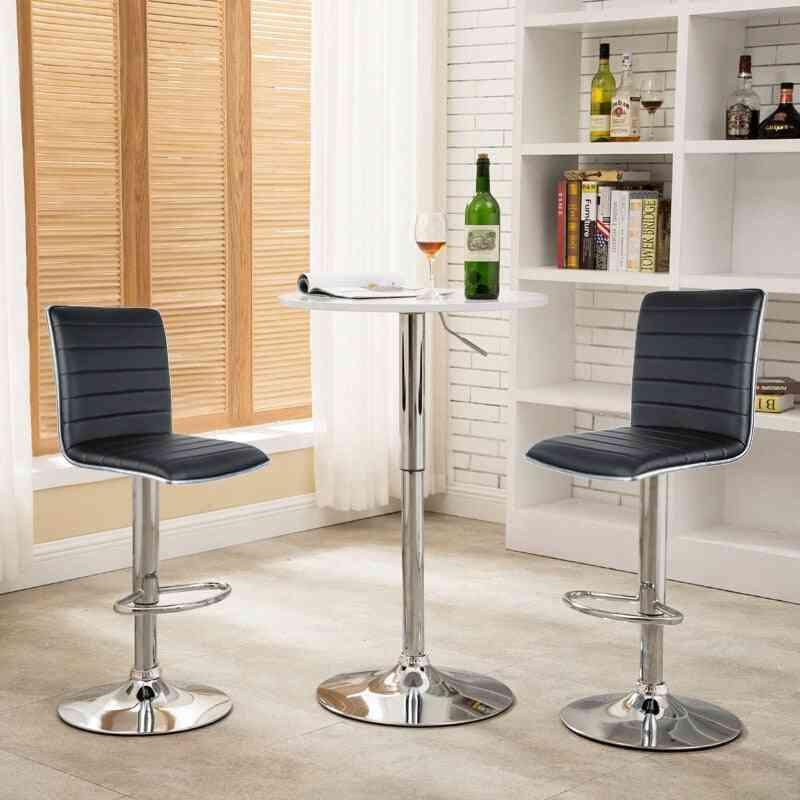 Modern, Rotatable And Adjustable Bar Chairs
