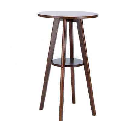 Simple Solid Wood Small Bar Table