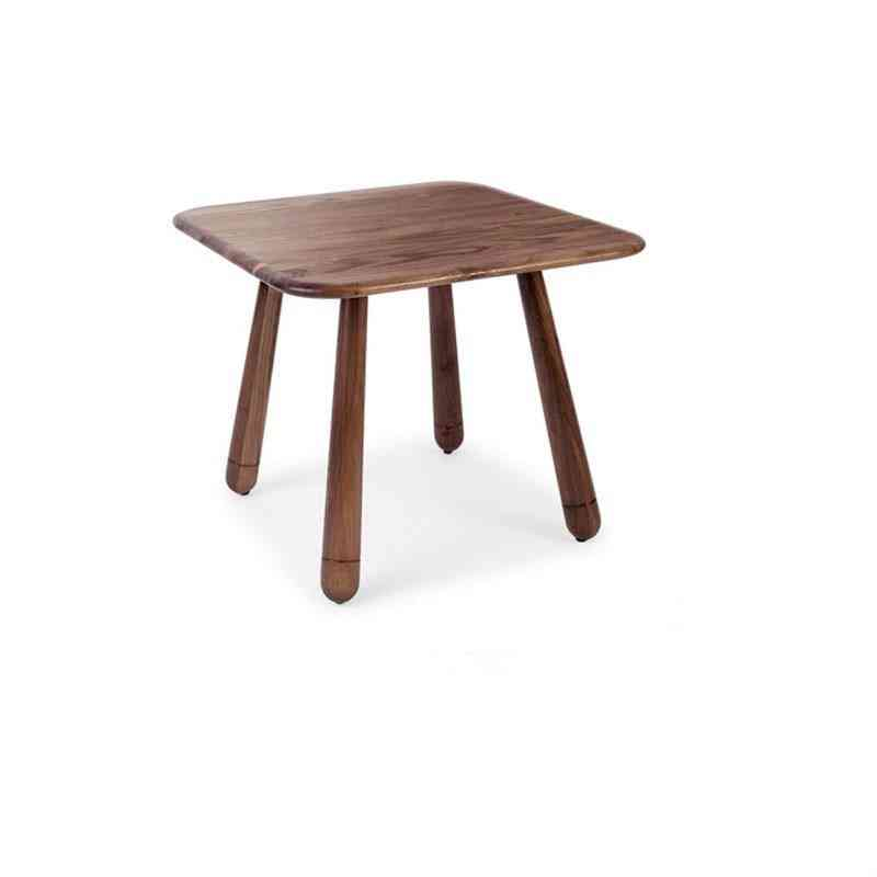 Solid Wood Square Table For