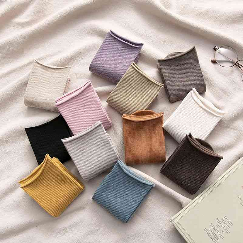 Cotton Comfort, Brief Elastic And Breathable Socks