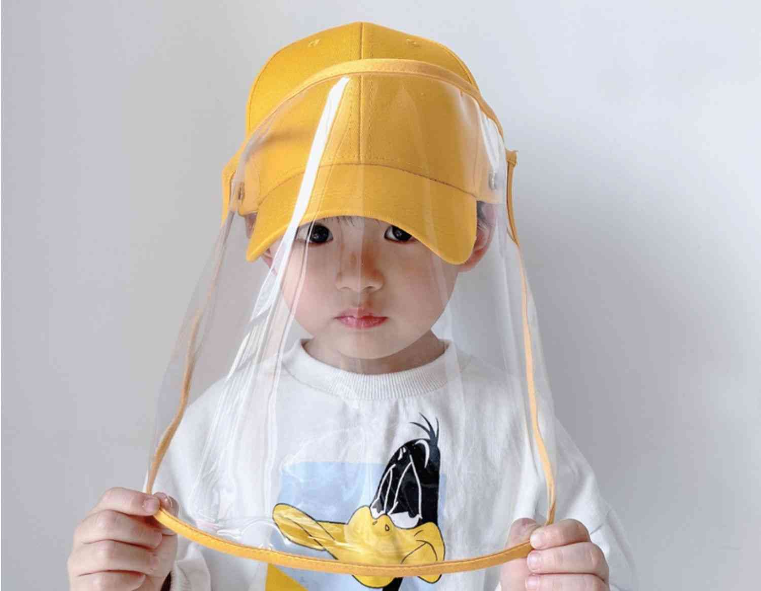 Children Cap With Anti Dust Hats For,