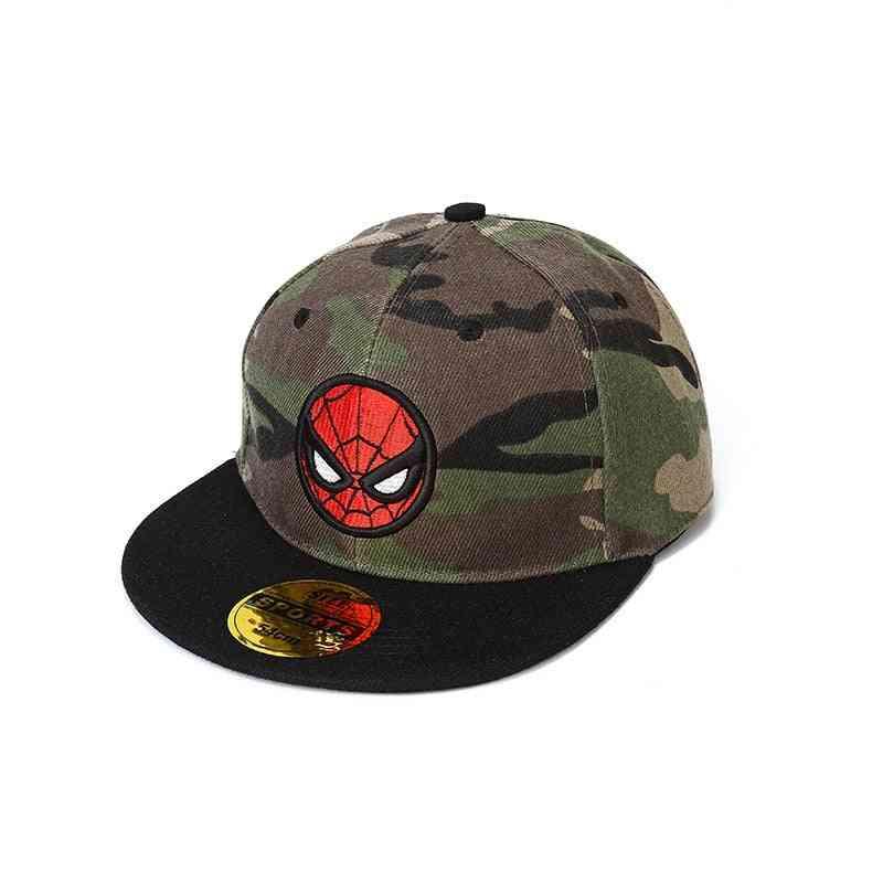 Cartoon Pattern Camouflage Baseball Cap